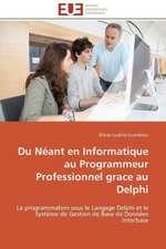 Du Neant En Informatique Au Programmeur Professionnel Grace Au Delphi:  France Et Russie