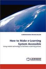How to Make e-Learning System Accessible