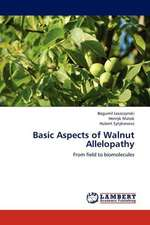 Basic Aspects of Walnut Allelopathy