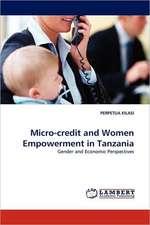 Micro-credit and Women Empowerment in Tanzania