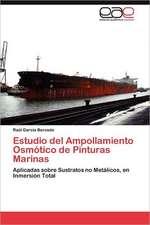 Estudio del Ampollamiento Osmotico de Pinturas Marinas:  Absorcion de Co2