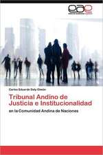 Tribunal Andino de Justicia E Institucionalidad:  Evaluacion Polisomnografica