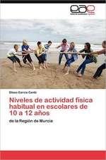 Niveles de Actividad Fisica Habitual En Escolares de 10 a 12 Anos:  Yo Integrotu Integrasla Escuela Integra