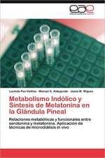 Metabolismo Indolico y Sintesis de Melatonina En La Glandula Pineal:  1935-1937