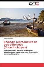 Ecologia Reproductiva de Tres Batoideos (Chondrichthyes):  Presidentas Municipales En Yucatan