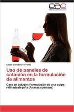 USO de Paneles de Catacion En La Formulacion de Alimentos:  Talleres Para Docentes