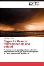 Sagua La Grande Migraciones de Una Ciudad:  Fundamentos del Lenguaje Digital