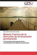 Modelo Teorico de La Direccion de La Formacion Permanente