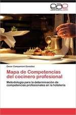 Mapa de Competencias del Cocinero Profesional:  Experiencia Pedagogica Japonesa