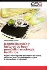 Mejoria Psiquica y Factores de Buen Pronostico En Cirugia Bariatrica:  Exportaciones de Balsa
