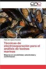 Tecnicas de Electroseparacion Para El Analisis de Toxinas Marinas:  Recurso Natural Forestal y Su Aprovechamiento Sustentable