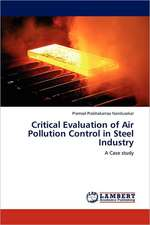 Critical Evaluation of Air Pollution Control  in Steel Industry