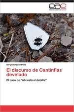 El Discurso de Cantinflas Develado:  Palmstrom, Palma Kunkel, Gingganz