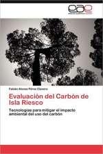 Evaluacion del Carbon de Isla Riesco:  Palmstrom, Palma Kunkel, Gingganz