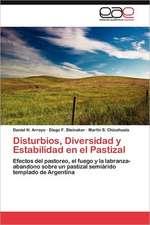 Disturbios, Diversidad y Estabilidad En El Pastizal:  Virtudes, Falencias y Nuevos Desafios