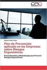 Plan de Prevencion Aplicado En Las Empresas Sobre Riesgos Ergonomicos:  Lo Arabe En La Prensa Espanola