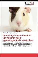 El Cobayo Como Modelo de Estudio de La Gametogenesis Masculina:  Multiplicacion y Conservacion