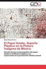 El Papel Amate, Soporte Plastico En La Pintura Indigena de Mexico:  Multiplicacion y Conservacion