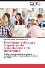 Ensenanza Reciproca y Adquisicion de Competencias En La Universidad:  Alegoria En Walter Benjamin
