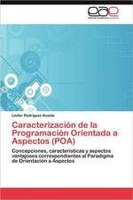 Caracterizacion de La Programacion Orientada a Aspectos (Poa):  Una Perspectiva Para La Ciencia Cuantica