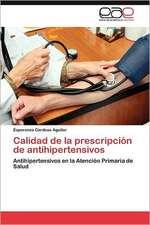 Calidad de La Prescripcion de Antihipertensivos:  Una Perspectiva Para La Ciencia Cuantica