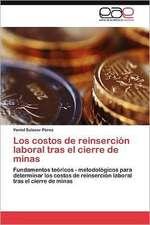 Los Costos de Reinsercion Laboral Tras El Cierre de Minas:  Confrontacion y Principios