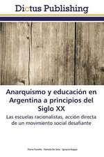 Anarquismo y educación en Argentina a principios del Siglo XX