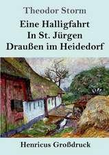 Eine Halligfahrt / In St. Jürgen / Draußen im Heidedorf (Großdruck)