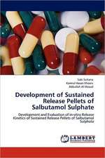 Development of Sustained Release Pellets of Salbutamol Sulphate