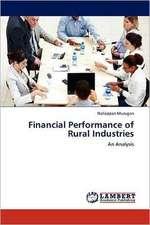 Financial Performance of Rural Industries