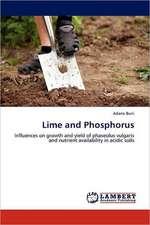 Lime and Phosphorus