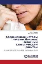 Sovremennye metody lecheniya  bol'nykh sezonnym allergicheskim rinitom