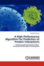A High Performance Algorithm For Prediction of Protein Interactions