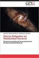 Discos Delgados En Relatividad General:  Arquitectura Sincretica