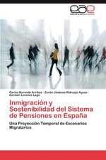 Inmigracion y Sostenibilidad del Sistema de Pensiones En Espana:  Una Vision Critica Desde La Psicologia
