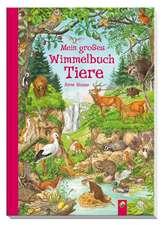 Mein großes Wimmelbuch Tiere