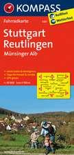 Stuttgart - Reutlingen - Münsinger Alb 1 : 70 000
