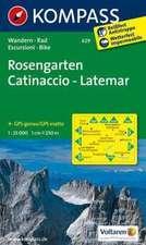 Rosengarten, Catinaccio, Latemar