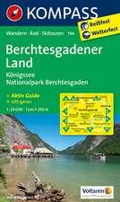 Berchtesgadener Land - Königssee - Nationalpark  Berchtesgaden 1 : 25 000