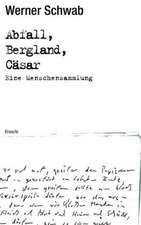 Abfall Bergland Cäsar