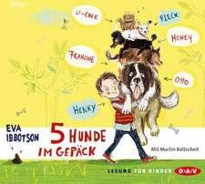 5 Hunde im Gepäck