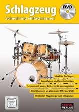 Schlagzeug - Schnell und einfach lernen + DVD