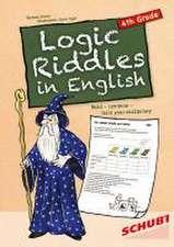 Logic Riddles in English 4th Grade