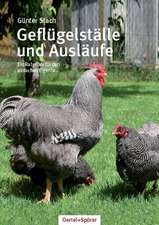Geflügelställe und Ausläufe