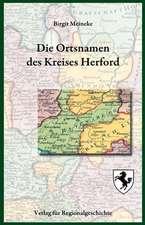Die Ortsnamen des Kreises Herford
