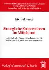 Strategische Kooperationen im Mittelstand