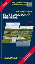 Naturparkregion Flusslandschaft Peenetal 1 : 75 000. Wassererlebnis- und Freizeitkarte