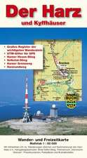 Der Harz und Kyffhäuser 1 : 50 000. Wander- und Freizeitkarte