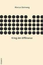 Krieg der différance