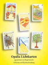 Opalia Lichtkarten. 32 Karten im Samtsäckchen